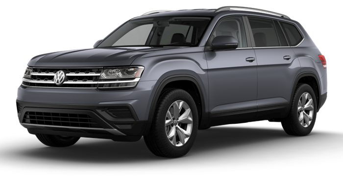 Compare the 2019 Volkswagen Atlas V6 S with 4MOTION®