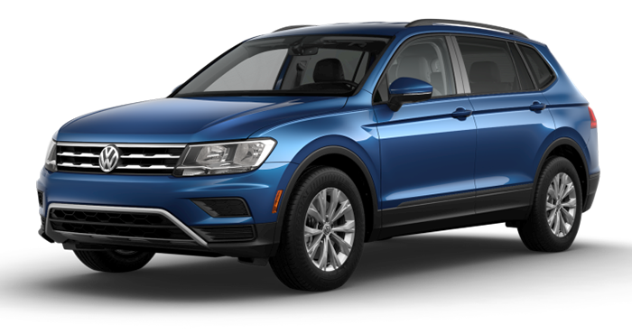 Compare the 2019 Volkswagen Tiguan S
